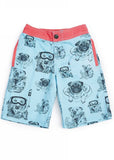 Tiger Joe boys swimshorts - scuba blue