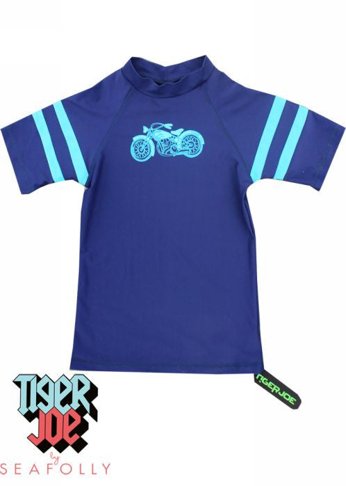 Tiger Joe UV rash tops - fuel