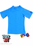 Tiger Joe UV rash tops - blue