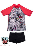 Tiger Joe UV rash tops - red