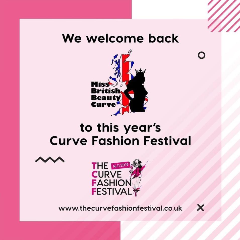Miss British Beauty Curve Brings the Crown Back to TCFF19
