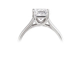 Diamond Princess Cut Engagement Ring - Della Kaur Cambridge - 2