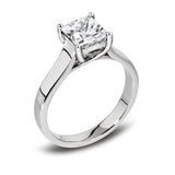 Diamond Princess Cut Engagement Ring - Della Kaur Cambridge - 1