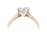 Diamond Half Set Engagement Ring - Della Kaur Cambridge - 2