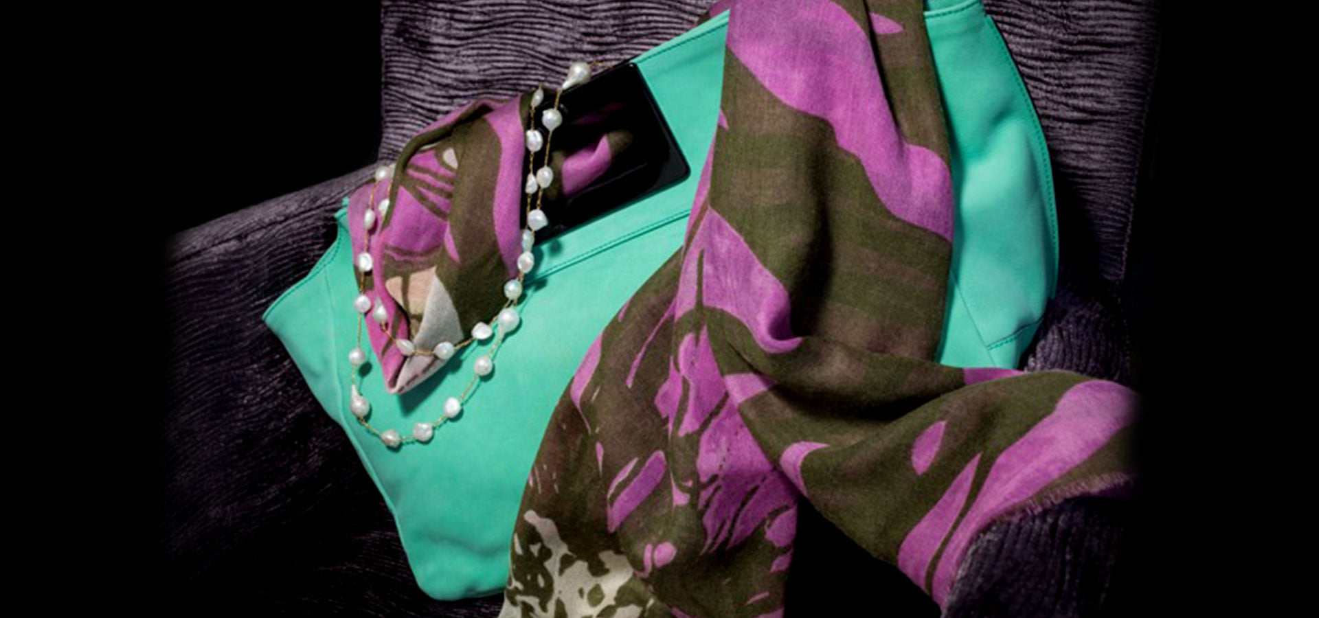 Image Showing Della Kaur's Scarf Collection, Sourced From India