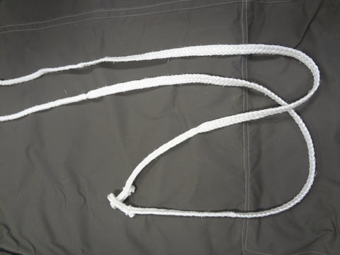 Plaited Silver Rope Reins