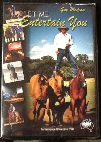 Let Me Entertain You- Entertainment DVD
