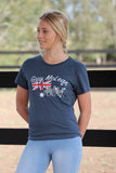 Ladies Flag Tee