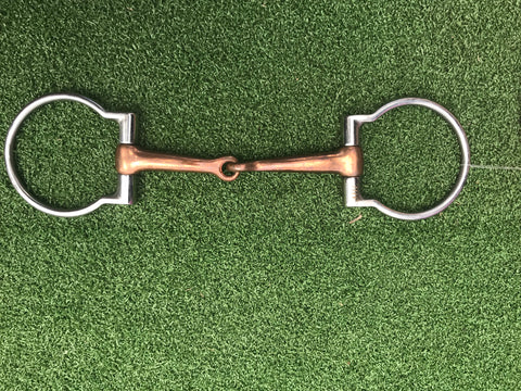 Copper Offset Dee Snaffle