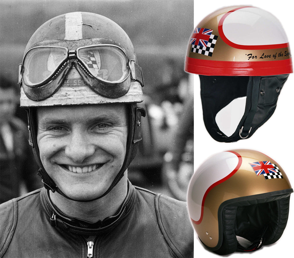 Mike Hailwood's  'For The Love of Sport'  Replica Helmet