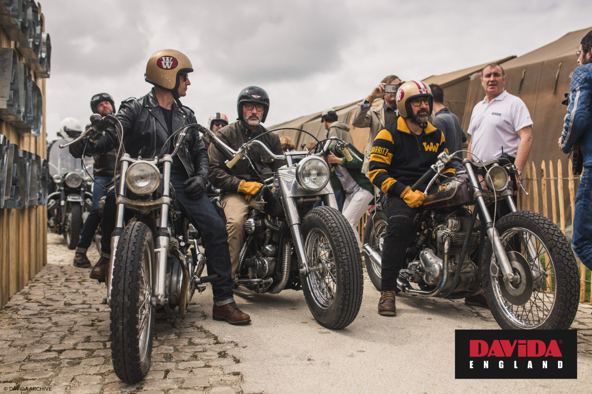 Wheels and Waves in their Davida lids in 2016