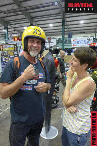 Happy customers at the Stafford Classic Bike Show in 2018