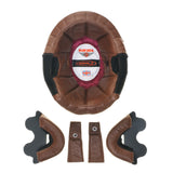 ZNut Brown Leather Complete Liner Kit for Davida Speedster V3