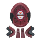 ROX Blood Red Leather Liner Kit for Davida Speedster V3