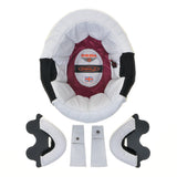 White Leather Complete Liner Kit for Davida Speedster V3
