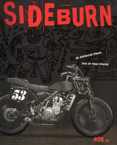Sideburn Magazine #26 Oct-Dec 2016 - Davida Motorcycle helmets