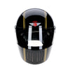 94228 -Gloss-Black-Gold-Pinstripe-Davida-Full-Face-Koura-Motorcycle-Helmet-2
