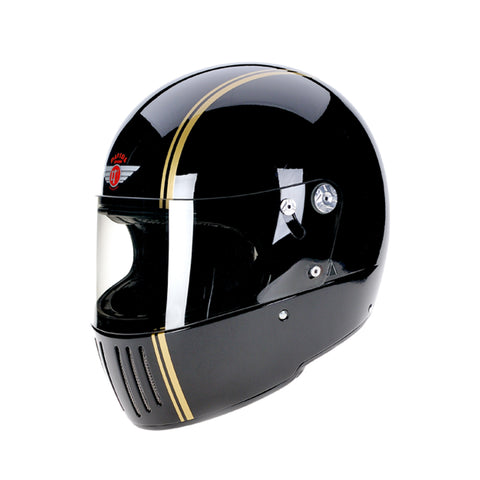 94228 -Gloss-Black-Gold-Pinstripe-Davida-Full-Face-Koura-Motorcycle-Helmet