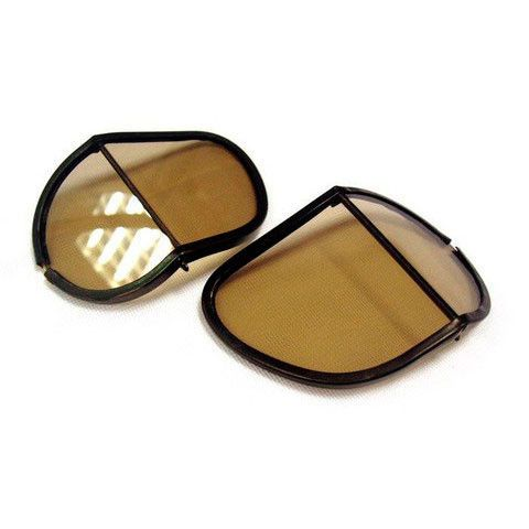 Halcyon Goggle Replacement Split Lens - Davida Motorcycle helmets - 1