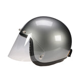 Bob Heath 5 Stud Wrapround Visor - Jet - Davida Motorcycle helmets