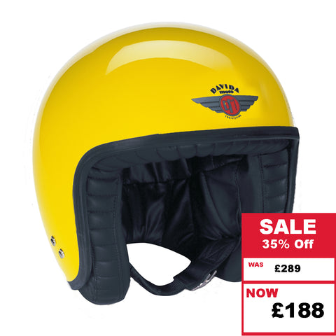 Jet Helmet - Yellow