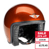 Jet Helmet - Cosmic Flake Orange