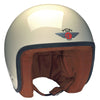 Jet Helmet - Cream Brown Leather