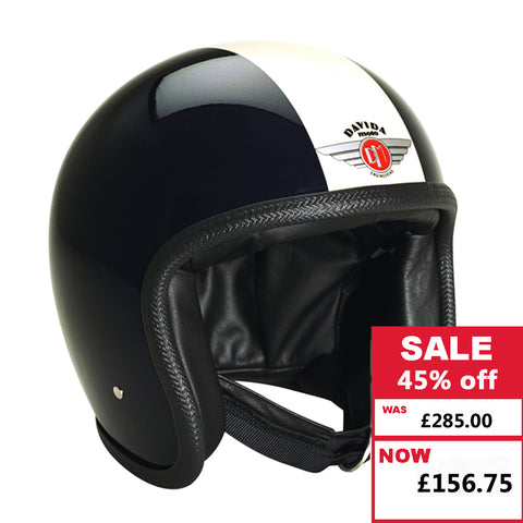 Speedster Helmet - Black and White