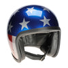 90543 - Metallic Stars and Stripes Davida Speedster Helmet - Davida Motorcycle helmets - 2