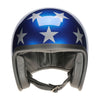 90543 - Metallic Stars and Stripes Davida Speedster Helmet - Davida Motorcycle helmets - 3
