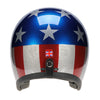 90543 - Metallic Stars and Stripes Davida Speedster Helmet - Davida Motorcycle helmets - 4