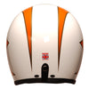 92542 - Cream B Orange Gold Davida Ninety 2 Helmet - Davida Motorcycle helmets - 4