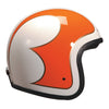 92542 - Cream B Orange Gold Davida Ninety 2 Helmet - Davida Motorcycle helmets - 1