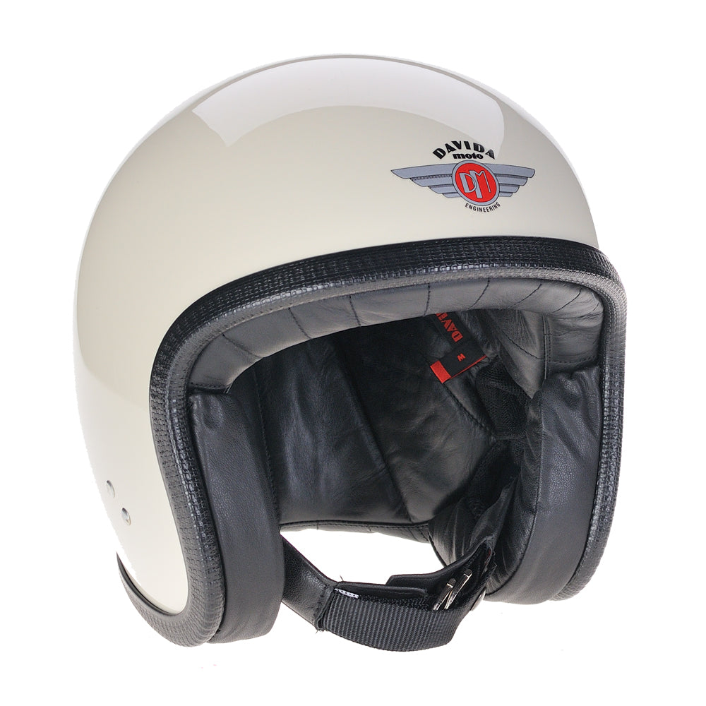 93113-cream-black-leather-speedster-v3-motorcycle-helmet-DOT-ECER2205-open-face-low-profile
