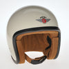 92514 - Cream, ZNut Brown Leather Davida Ninety 2 Helmet