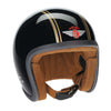 92228 - Black Gold PS Davida Ninety 2 Helmet
