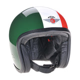 93290 - Green White Red Davida Speedsterv3 Helmet