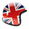93507-Cream-red-blue-Union-Jack-Sides-Davida -speedster-v3-motorcycle-Helmet-DOT-ECER220-open-face-low-profile