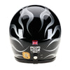 93533-gloss-Black-Silver-Flames-Davida-Speedster-v3-motorcycle-Helmet-DOT-ECER2205-open-face-low-profile
