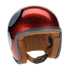 Brown Leather Liner Kit for Davida Ninety 2 Helmet