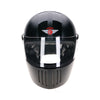 94227-Matt_Black-2-P-Gloss-Black-David- Full-Face-Koura-Motorcycle-Helmet-2