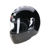 94270-Gloss_Black-white-check-David- Full-Face-Koura-Motorcycle-Helmet