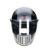 94512 -Black-Silver-Grey-Mono-Union-Jack-Sides-Davida-Full-Face-Koura-Motorcycle-Helmet-2