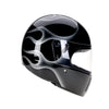94533 - Black-Silver-Flames-Davida-Full-Face-Koura-Motorcycle-Helmet-3