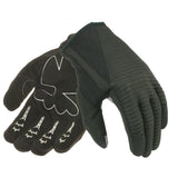 Davida Lightweight Metropolitan Glove - Black Real Suede Palm / White Grip