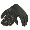 Davida Lightweight Metropolitan Motorcycle Glove  - Black Suedette Palm / Clear Grip helmets