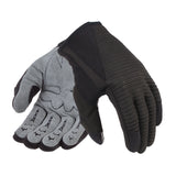Davida Lightweight Metropolitan Glove - Grey Real Suede Palm / Black Grip