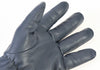 Davida Motorcycle Glove - Grey Leather Shorty