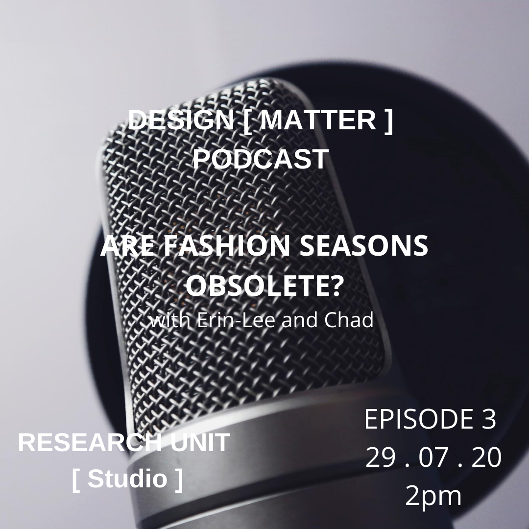 Are Fashion Seasons Obsolete? Ep 3