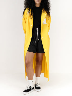 Ripstop Coat For Women- Yellow